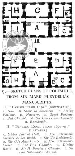 rbh description of coleshill house berkshire oxfordshire