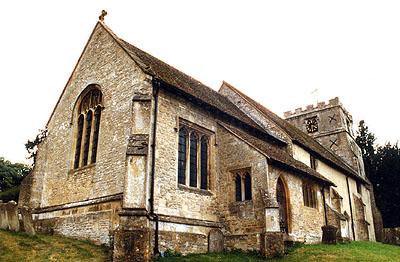Berkshire History Letcombe Regis Parish Church